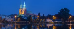 Katedra na Wzgórzu Lecha w Gnieźnie
